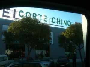 El Corte Chino (Chinese Macy's)